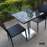 Modern Solid Surface Restaurant Table and Chairs