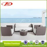 Deep Seating Rattan Sofa (DH-9634)