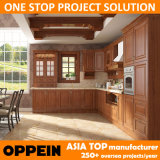 Oppein Transitional PP Eco-Wood Kitchen Cabin...