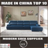 Modern Couch Italian Design L Shape Leather Sofa